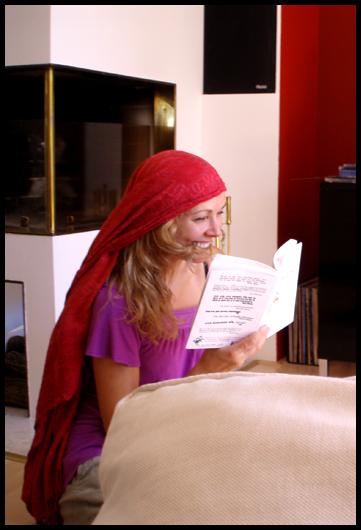 Ro2069 und eine lachende Petra