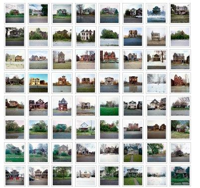 100 verfallene Häuser in Detroit by Kevin Bauman