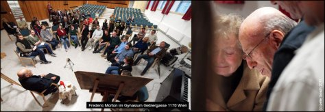 Frederic Morton besucht sein altes Gymnasium
