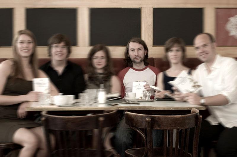 Richard K. Breuer im Kaffeehaus