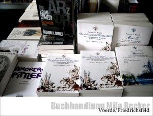 Tiret Brouillé in der Buchhandlung Mila Becker