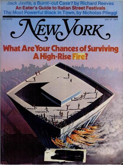 Cover of the New York Magazine 1974 May 27