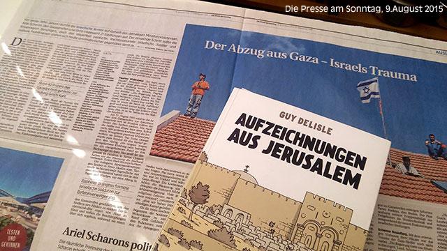 Israel & Gaza: Die Sichtweise im Mainstream, im Sommer 2015