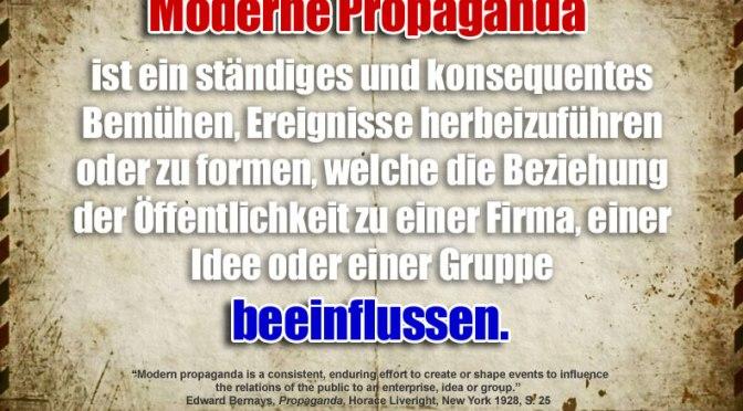 Hysterie 2.0: Je suis propagande