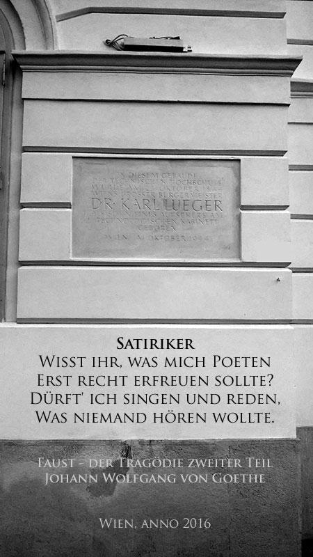 Antisemitismus goes wild: Lueger, Goethe, Kaiserin Maria Theresia, Luther, u. v. m.