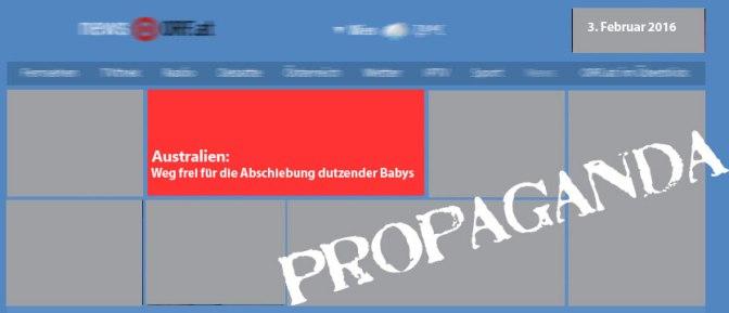 Wider der Propaganda: ORF.at und die Abschiebung Dutzender Babys