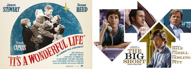 Zwei Filme, eine Wahrheit: Ist das Leben nicht schön? vs. The Big Short