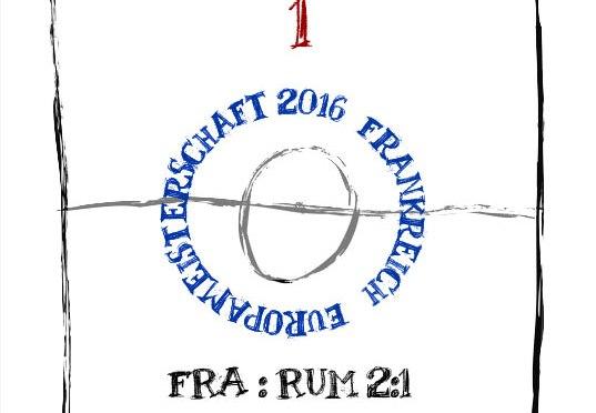 EM 2016: Spieltag 1