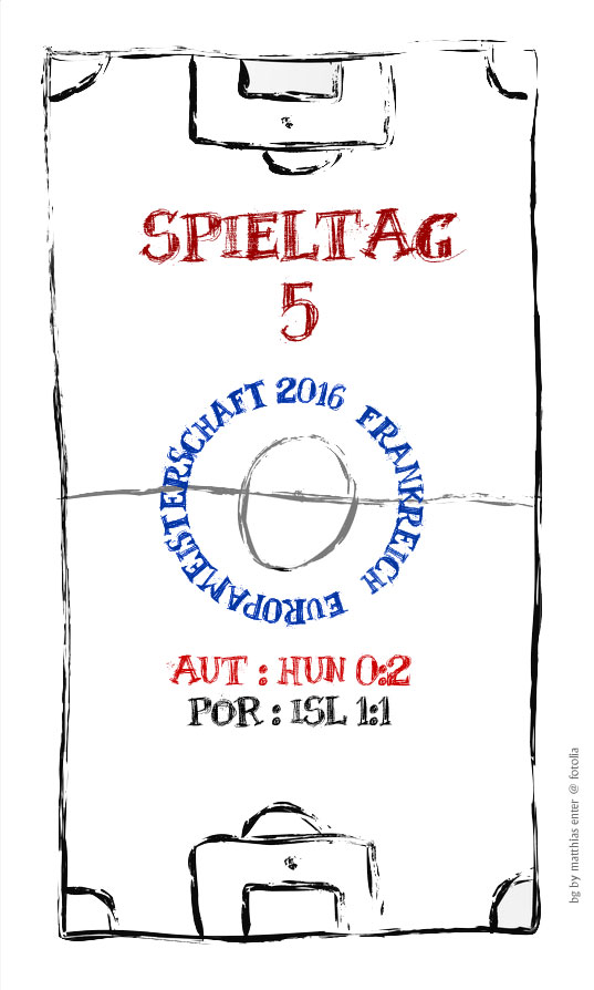 EM 2016: Spieltag 5
