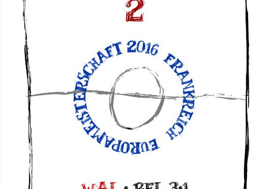 EM 2016: Viertelfinale 2 – WAL : BEL