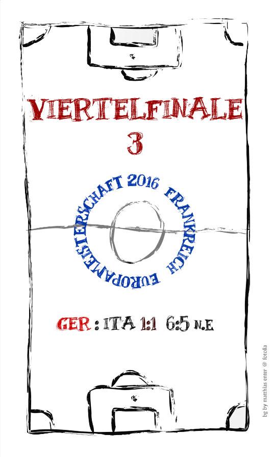EM 2016: Viertelfinale 3 – GER – ITA