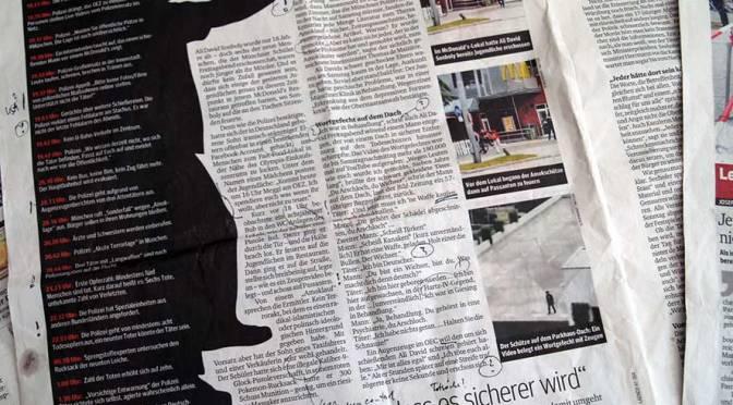 Amoklauf München, 2016: Merkwürdigkeiten in der medialen Berichterstattung