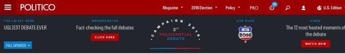 Trump vs. Clinton – Die zweite Debatte