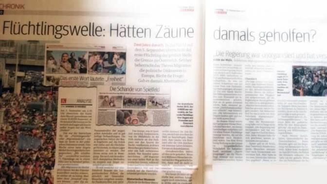 Flüchtlingswelle 2015. Analyse einer Analyse.