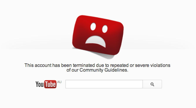 Youtube_Terminated