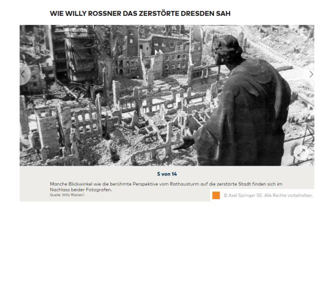 Der Untergang der sächsischen Barockresidenz Dresden, 13. Februar 1945