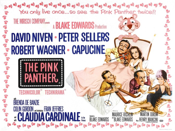 Der rosarote Panther sieht schwarz