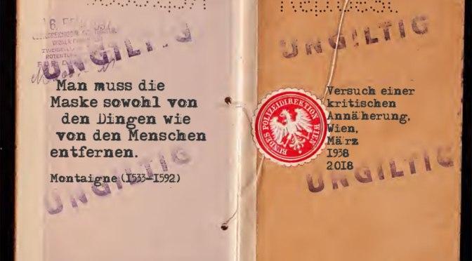 Wien, im März 1938: Wirtschaftswunder vs. Totenüberschuss