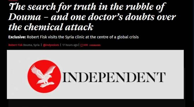 Politik und Medien zur Syrienkrise: Wenn sich die Katze ins Knie beißt