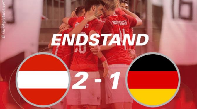 WM-Vorbereitung: Österreich schlägt Deutschland 2:1