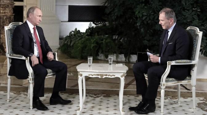 Der russische Präsident Putin besucht Wien und gibt dem ORF ein langes Interview