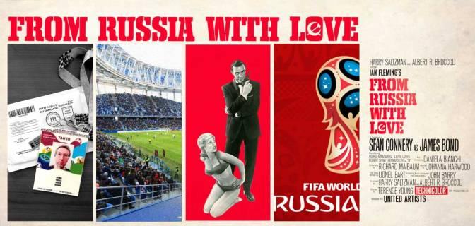 Liebesgrüße aus Moskau – Die Fußball WM 2018 in Russland wird angepfiffen