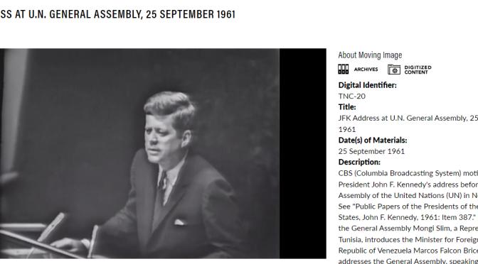 John F. Kennedy und das 55-jährige Schweigen