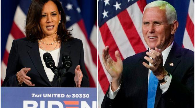Der Schlagabtausch in der zweiten Reihe: Die Debatte zwischen Pence und Harris #USA