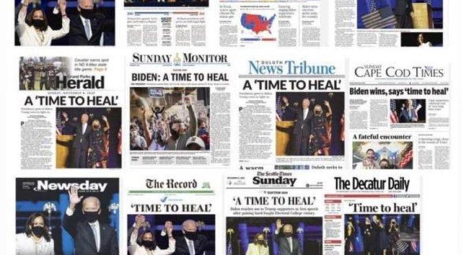 Bürgerzwist im Kopf und eidesstattliche Erklärungen am Tisch #USA #Wahl2020 #covid19 #orwell