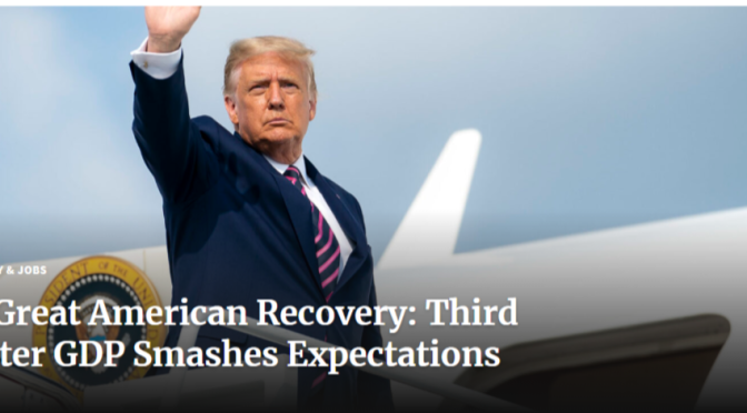 Why does this blog endorse Donald Trump? Because the Best is yet to come! #Election2020 #USA