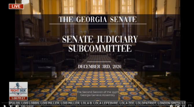Anfang vom Ende in #Georgia #Anhörung #Senat #Giuliani #USWahl