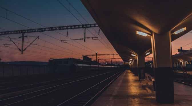 Das Ende einer Reise und ein Zug, der nicht kommt #Leben #Liebe #Literatur